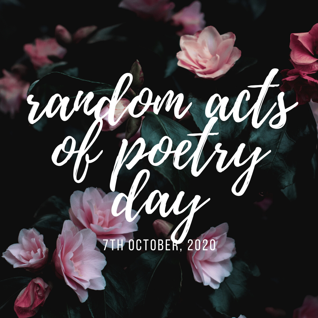 Celebrate Random Acts Of Poetry Day This Way